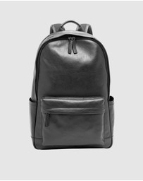 Fossil - Buckner Black Backpacks