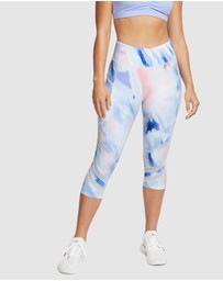 Rockwear - Spirit Printed Pocket 3/4 Tights