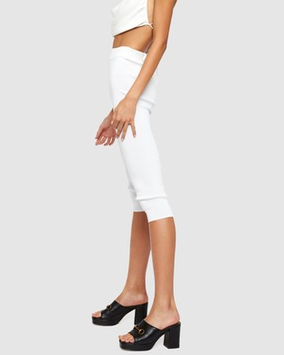 Lioness The Highway Capris - Pants (White)
