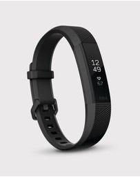 Fitbit - Fitbit Alta HR Gun Metal Limited Edition
