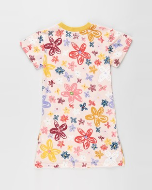 Kip&Co Pansy Short Sleeve Nightie   Kids Teens - Sleepwear (Pansy)