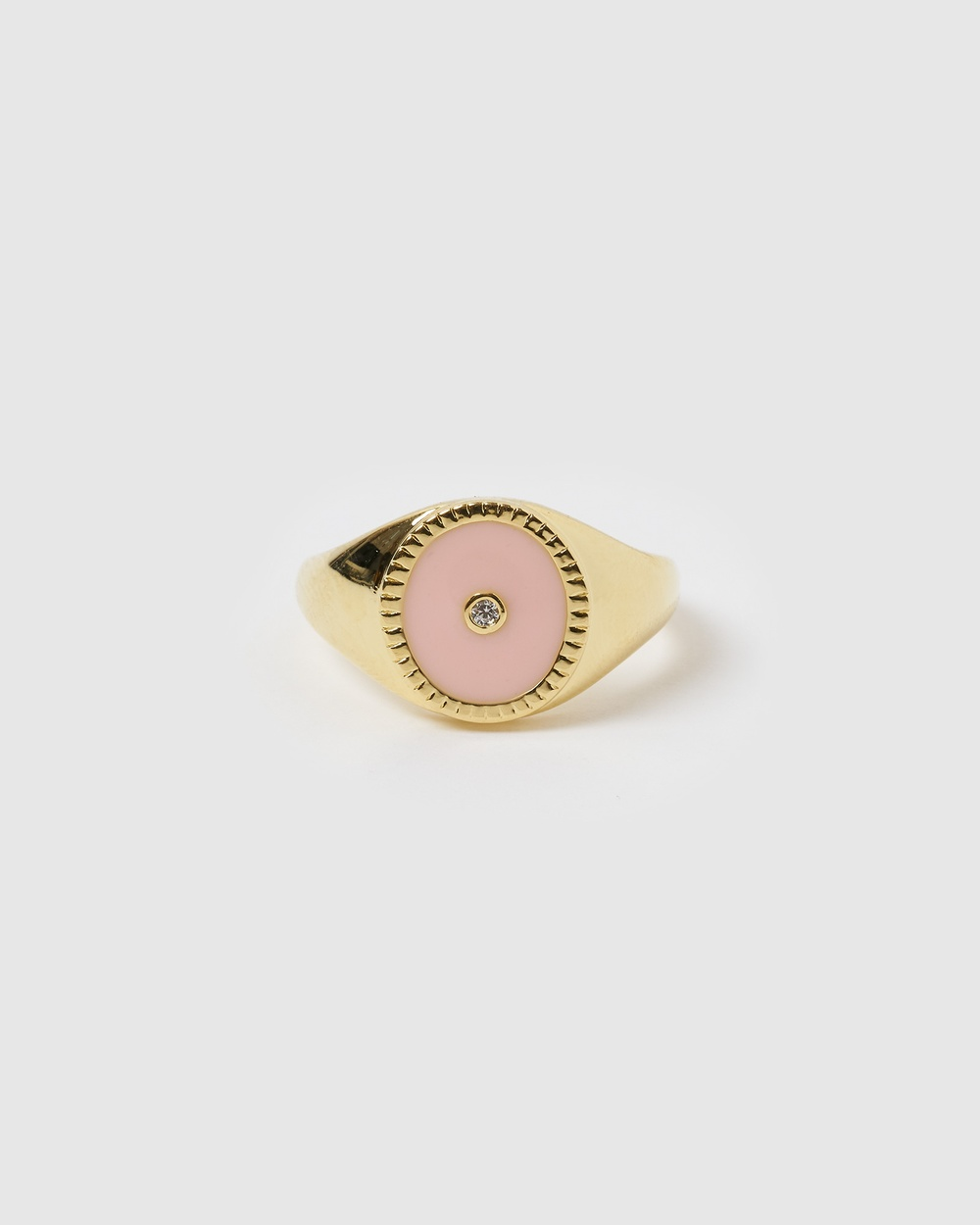 Arms Of Eve Pachanga Gold & Enamel Signet Ring Jewellery Gold