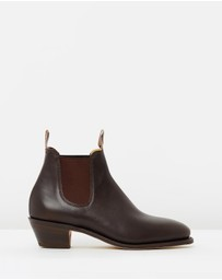 R.M.Williams - Womens Adelaide Cuban Heel Boots