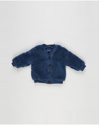 Rock Your Baby - Sherpa Cardigan - Babies