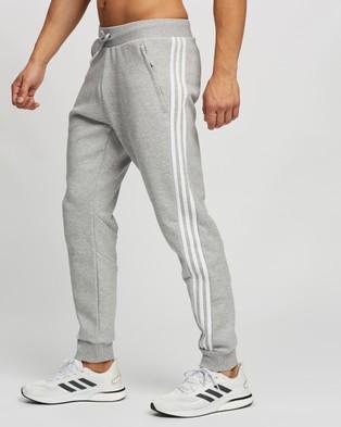 adidas Performance 3 Stripes Sweat Pants - Track Pants (Medium Grey Heather)