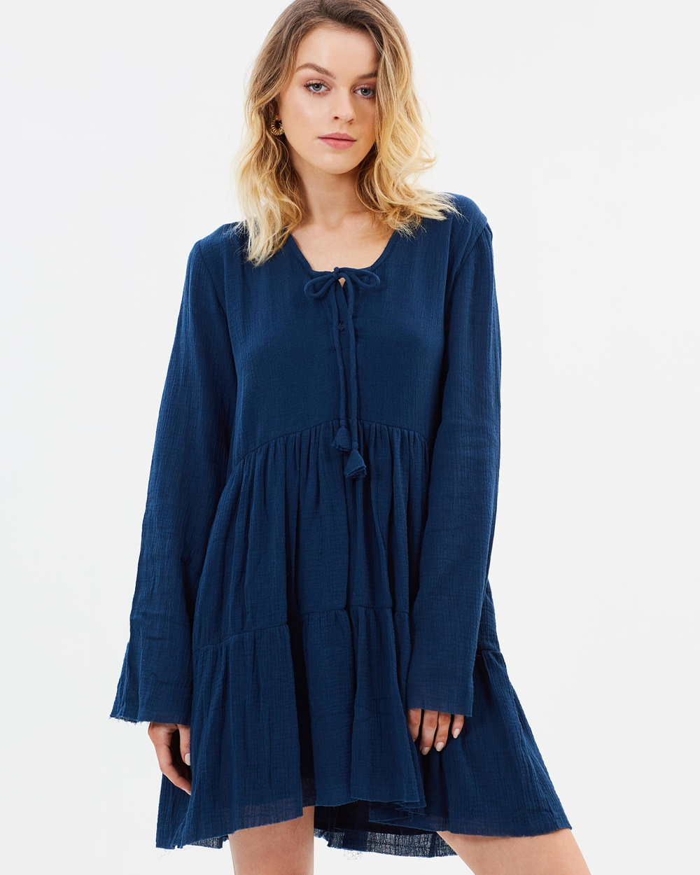 Rue Stiic Tucson Dress Dresses Navy Tucson Dress