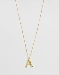 Amber Sceats - Letter Necklace - A