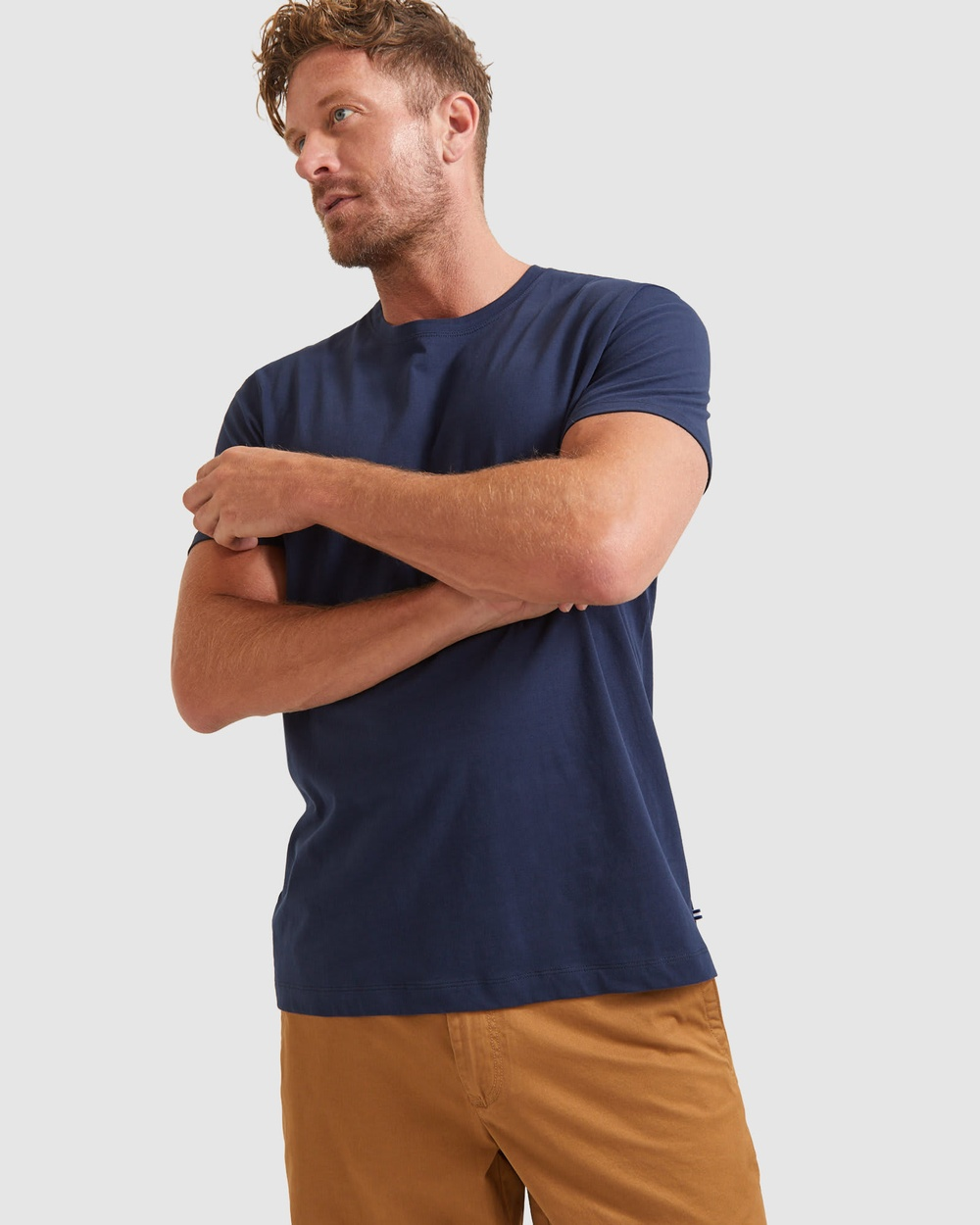 Sportscraft - Supersoft Tee - T-Shirts & Singlets (navy) Supersoft Tee