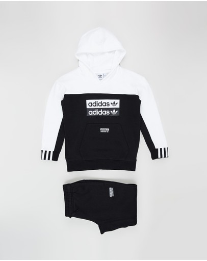 adidas Originals - Colourblock Hoodie Set - Kids