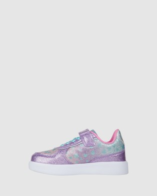 Candy - Charley Hearts Sneakers (Lilac)