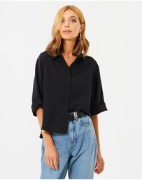 Calli - Rhianna Button Up Shirt