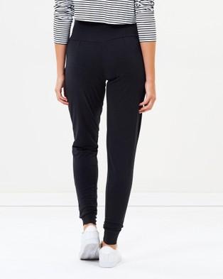 Angel Maternity Maternity Bamboo Casual Pants - Pants (Black)