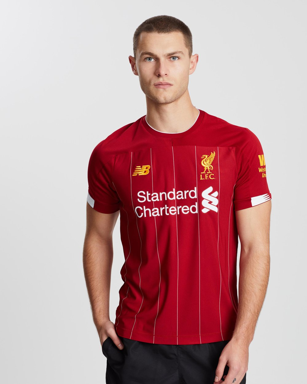cheap for discount aa6e8 dcb7b Liverpool FC Home SS Jersey