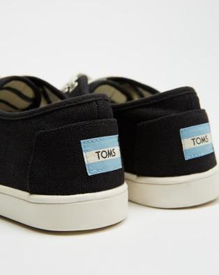 TOMS Cordones Sneakers   Women's - Lifestyle Sneakers (Black)