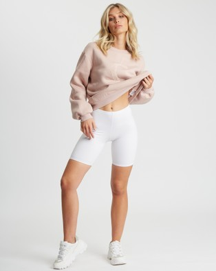 Calli Billie Oversized Sweatshirt - Sweats (Dusty Rose)