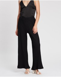 Feather Drum - Wide Leg Pants