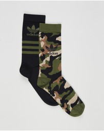 adidas Originals - Camo Crew Socks