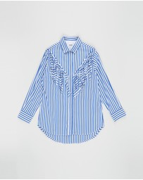 MSGM - Stripe Shirt - Kids-Teens