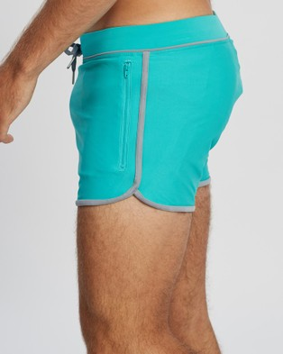 TEAMM8 Genesis Swim Shorts Briefs (Aqua)