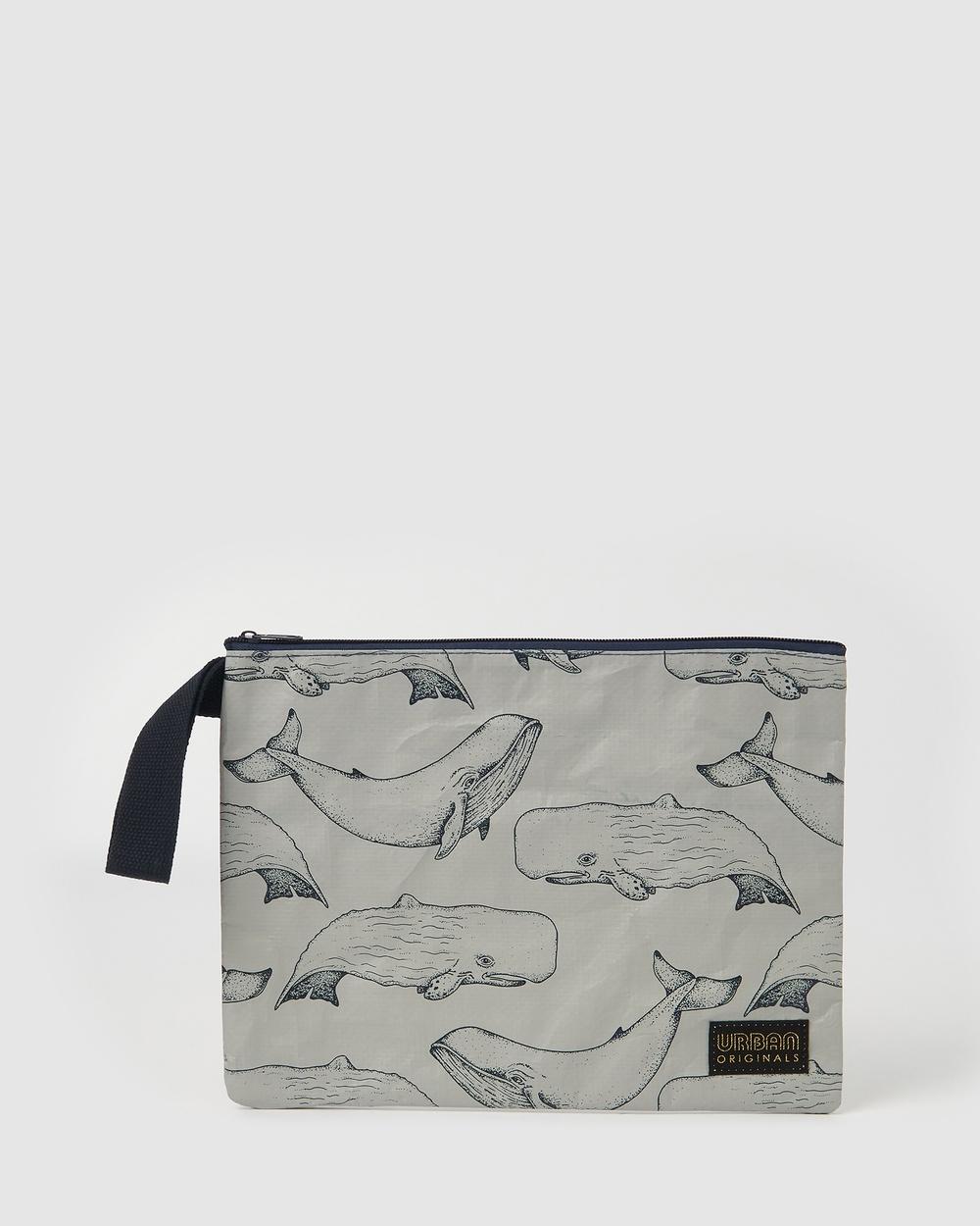 Urban Originals Pouch Clutches Whales