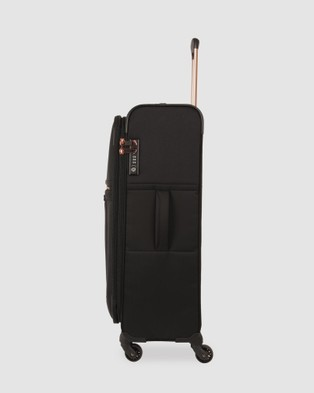 Samsonite - Uplite SPL 71cm Expandable Spinner - Travel and Luggage (Black & Gold ) Uplite SPL 71cm Expandable Spinner