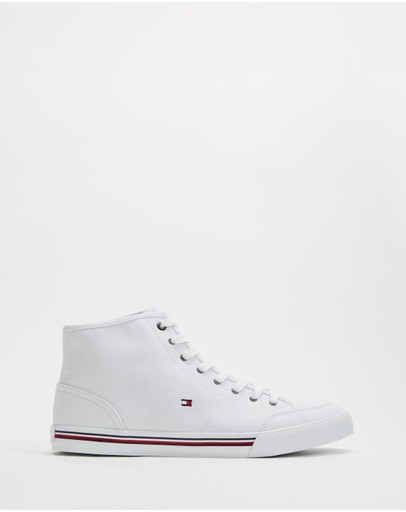 Tommy Hilfiger - Signature Mid-Top Trainers - Men's