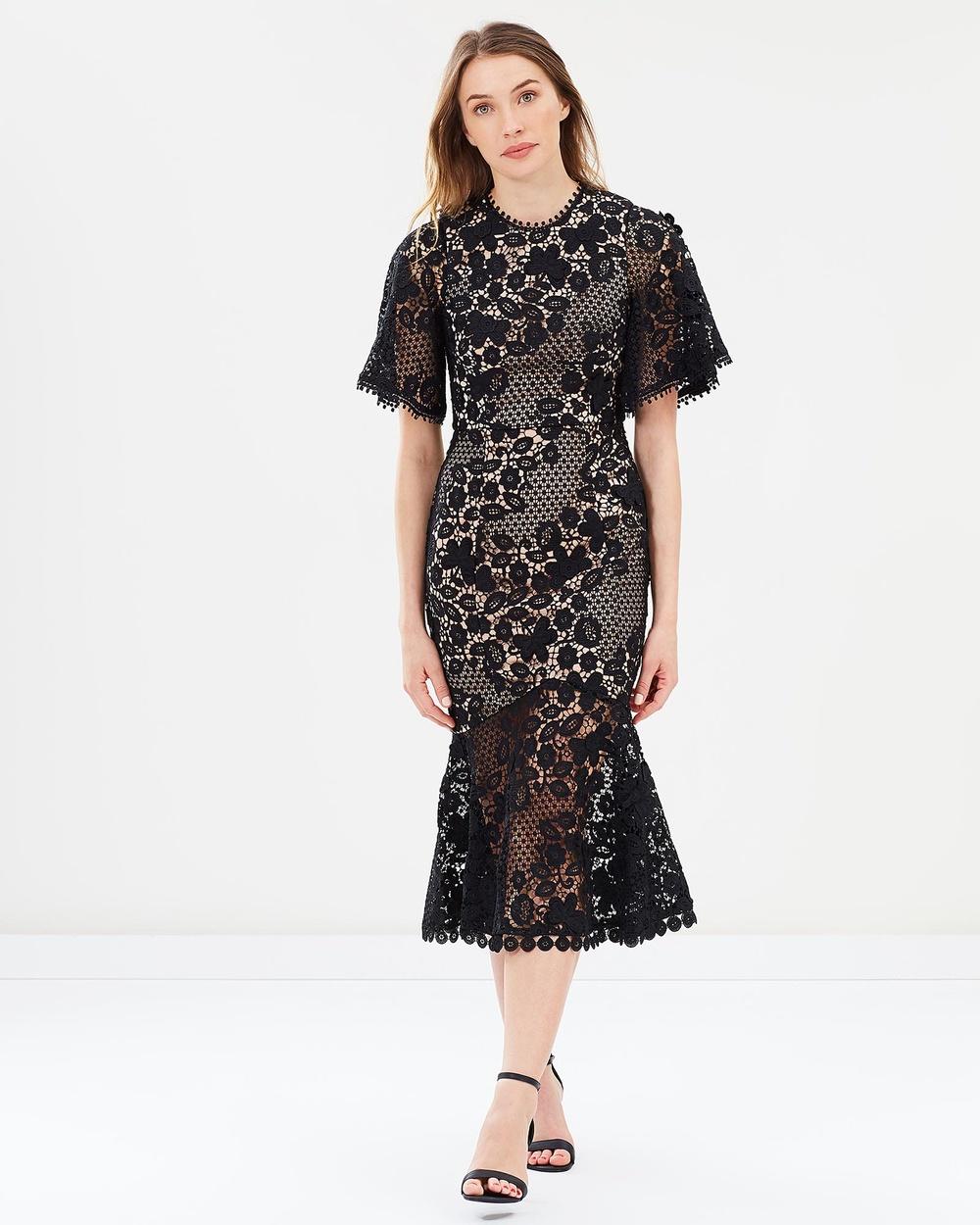 Love Honor Harper Lace Dress Bridesmaid Dresses Black Harper Lace Dress