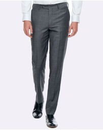 BELL & BARNETT - Geoffrey Grey Slim Fit Suit Trouser