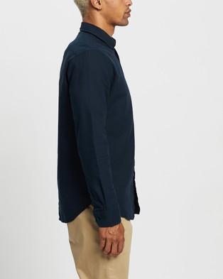 Ben Sherman Long Sleeve Signature Oxford Shirt - Shirts & Polos (Dark Navy)