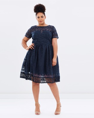 Chi Chi Curve – Sheridan Dress – Dresses (Navy)