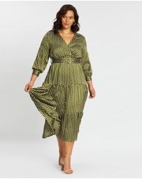50s Prom Dress Blue White Polka Dot Womens Adult Costume Plus Size NEW