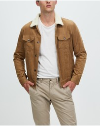 Staple Superior - Staple Cord Sherpa Jacket