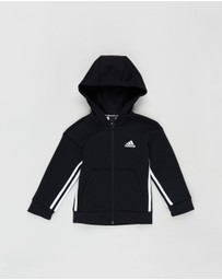 adidas Performance - Must-Haves 3-Stripes Full-Zip Hoodie - Kids-Teen
