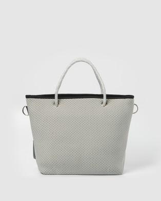 Miz Casa and Co Beverly Neoprene Mini Tote Bag - Bags (Grey)
