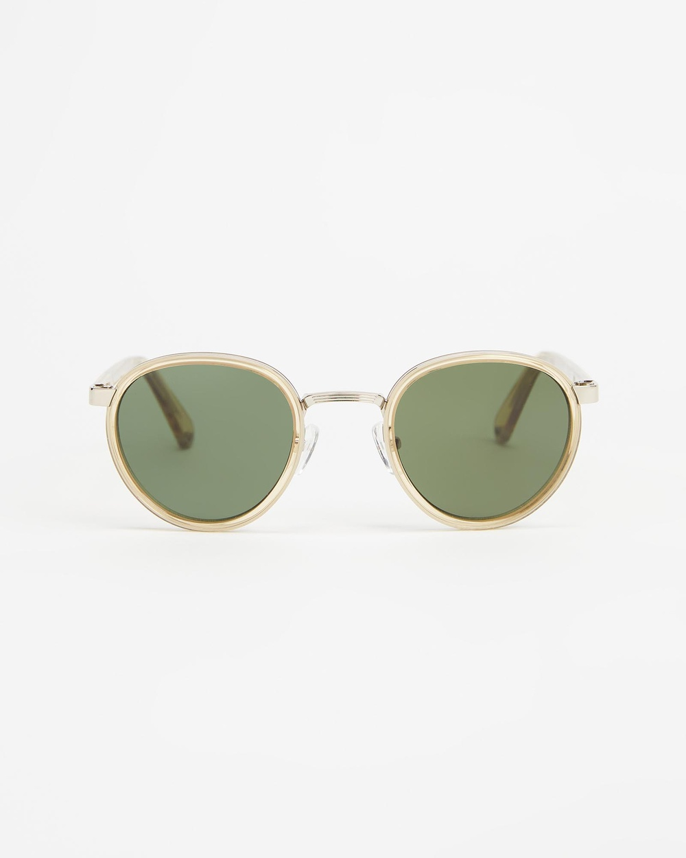 Pacifico Optical Carter Sunglasses Champagne & Green