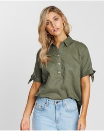 Atmos&Here - ICONIC EXCLUSIVE - Penelope Linen Shirt