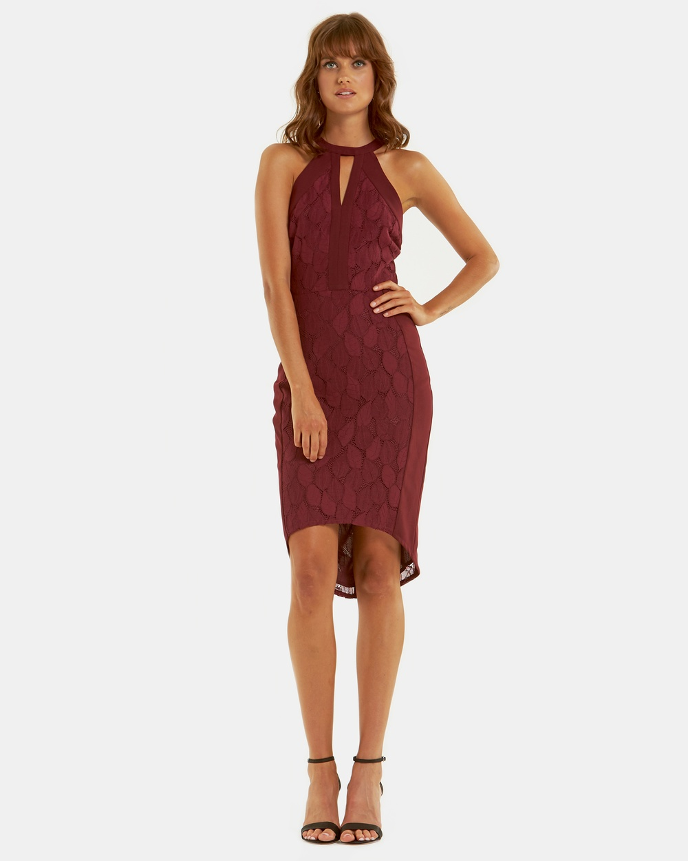 Amelius Athena Lace Dress Dresses Wine Athena Lace Dress