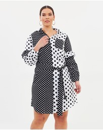 Lost Ink Plus - Shirt Dress