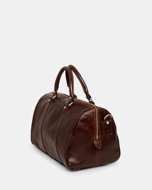 Republic of Florence Small Nardi Overnight Bag - Duffle Bags (Chocolate)