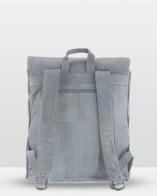 Cobb & Co - Wentworth Soft Leather Backpack - Backpacks (Mist) Wentworth Soft Leather Backpack
