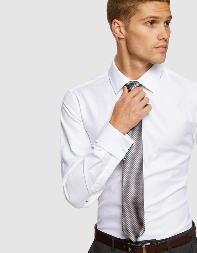Oxford - Beckton Dobby French Cuff Shirt