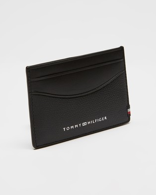 Tommy Hilfiger Mini Business Cardholder - Wallets (Black)