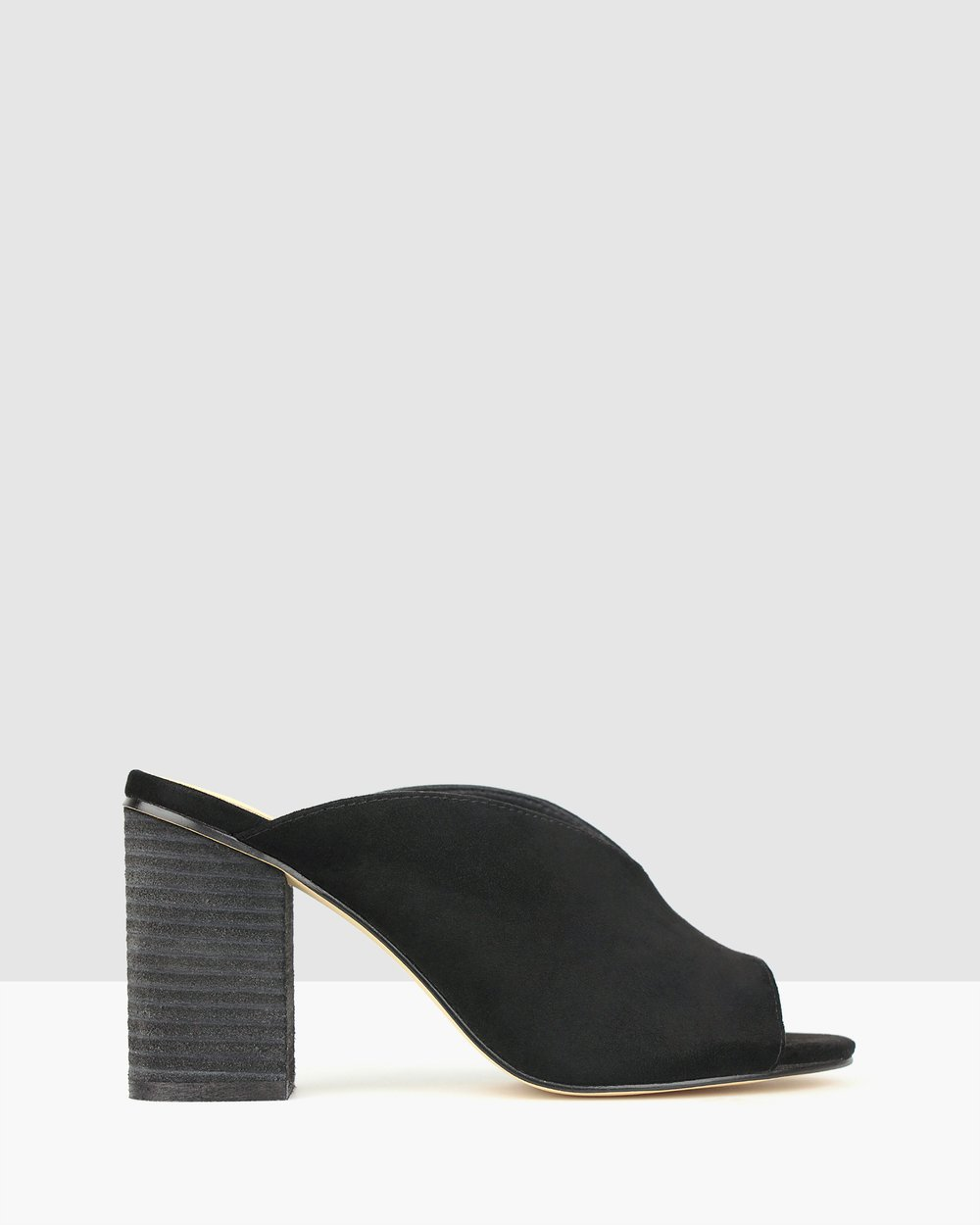 7152bc68b0b Lunar Block Heel Mules by Betts Online