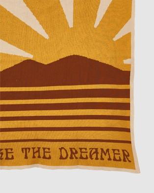 Banabae Don't Wake The Dreamer Blanket - Blankets (Multi)