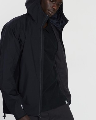 Arc'teryx Solano Hooded Jacket - Coats & Jackets (Black)