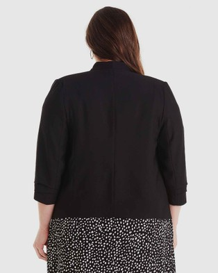 Estelle Crisp Air Jacket - Blazers (Black)