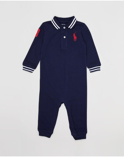 Polo Ralph Lauren - One-Piece Polo Coveralls - Babies