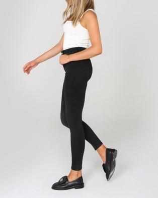 Madison The Label - Natasha Jeans - High-Waisted (Black) Natasha Jeans