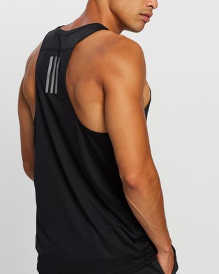 adidas Performance Own The Run Singlet - Muscle Tops (Black)