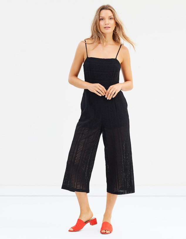 da4f19ae4dc Fifth Avenue Cropped Jumpsuit by MINKPINK Online